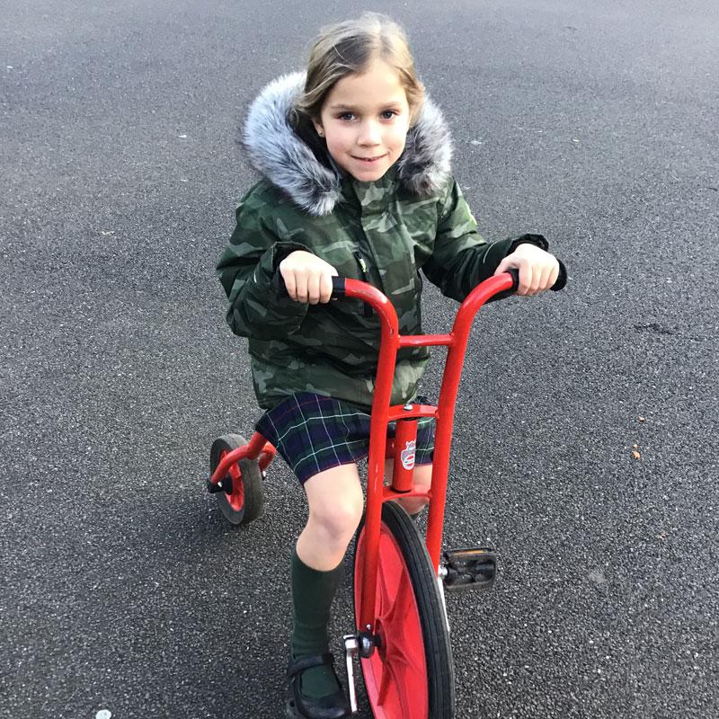Afterschool Club bike riding