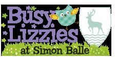Busy Lizzies at SImon Balle Logo