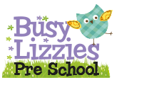 Buzy Lizzies Preschool Logo